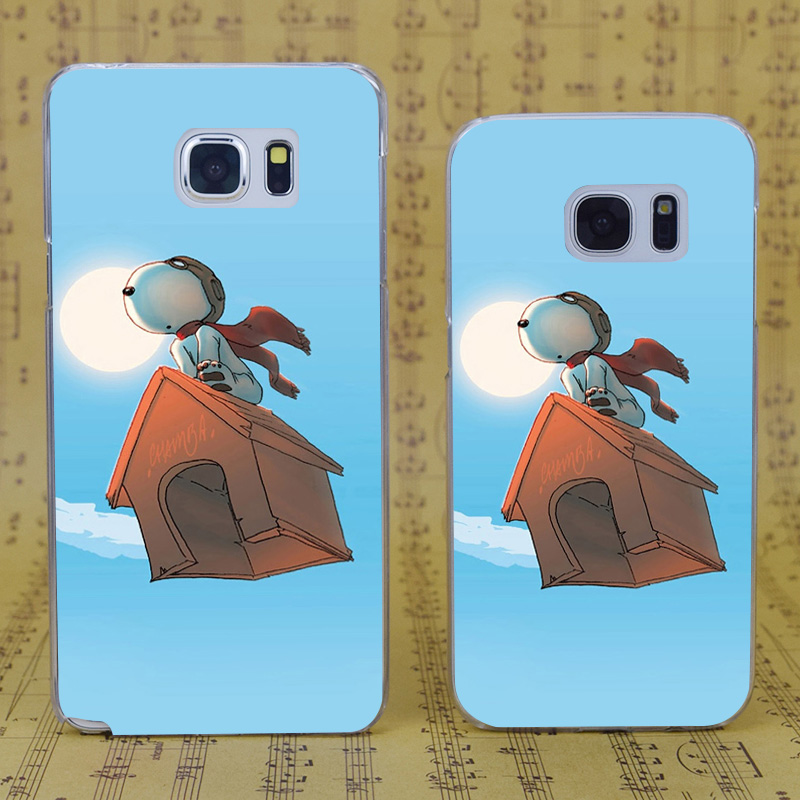 DREAM FOX B1305 Fly On The House Transparent Hard PC Case Cover For Samsung Galaxy S 4 5 6 7 8 Mini Edge Plus Note 3 4 5 8