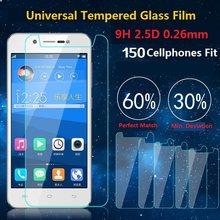 Vidro temperado ultra fino 9h, para modelos universal 4.0 4.5 4.7 5.0 5.3 5.5, 5.7 polegadas película protetora quebra
