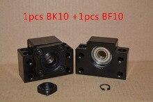 BK10 BF10 BK10 y BF10 apoyo tornillo de la bola SFU1204 12mm 1204 RM1204 husillo de bolas end soporte cnc parte 1 Unidades