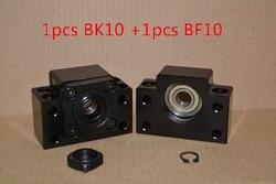 BK10 BF10 SFU1204 śruby kulowej wsparcie i do 12mm 1204 RM1204 cnc części 1 zestaw w Części i akcesoria do drukarek 3D od Komputer i biuro na