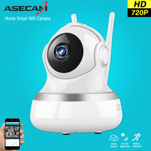 ASECAM 720P Pan Tilt Wifi ip Camera Wireless Home 1MP P2P Baby Monitor CCTV Wi fi ipcam Security Surveillance Two-Way Audio