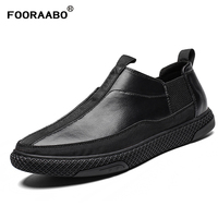 2019 Mens Loafers Shoes Leather Man Casual Shoes Flats Comfortable High Quality Male Soft Black Shoes Moccasins Driving Shoes