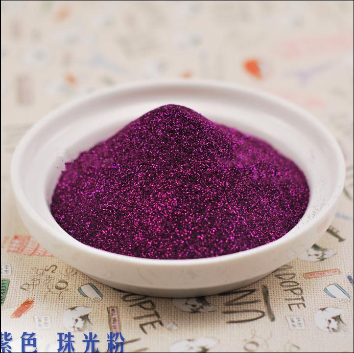 30g paiete Purple Metal Stralucitor Glitter Sequin Pulbere DIY Pentru - Manichiură