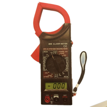 Digital Current Clamp Meter Buzzer Data Hold AC 750V DC 1000V Electronic Volt AMP Resistance Multimeter Ohmmeter Ammeter