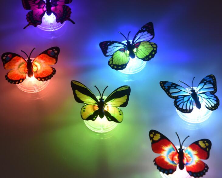 Veilleuse papillon lumineuse accessoires Halloween pour enfantsVeilleuse papillon lumineuse accessoires Halloween pour enfants