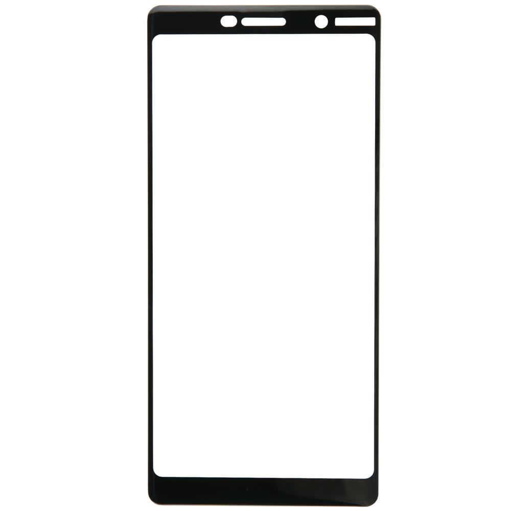 Beschermende glas Rode Lijn voor Nokia 7 Plus Full Screen (3D) 6.0 zwart