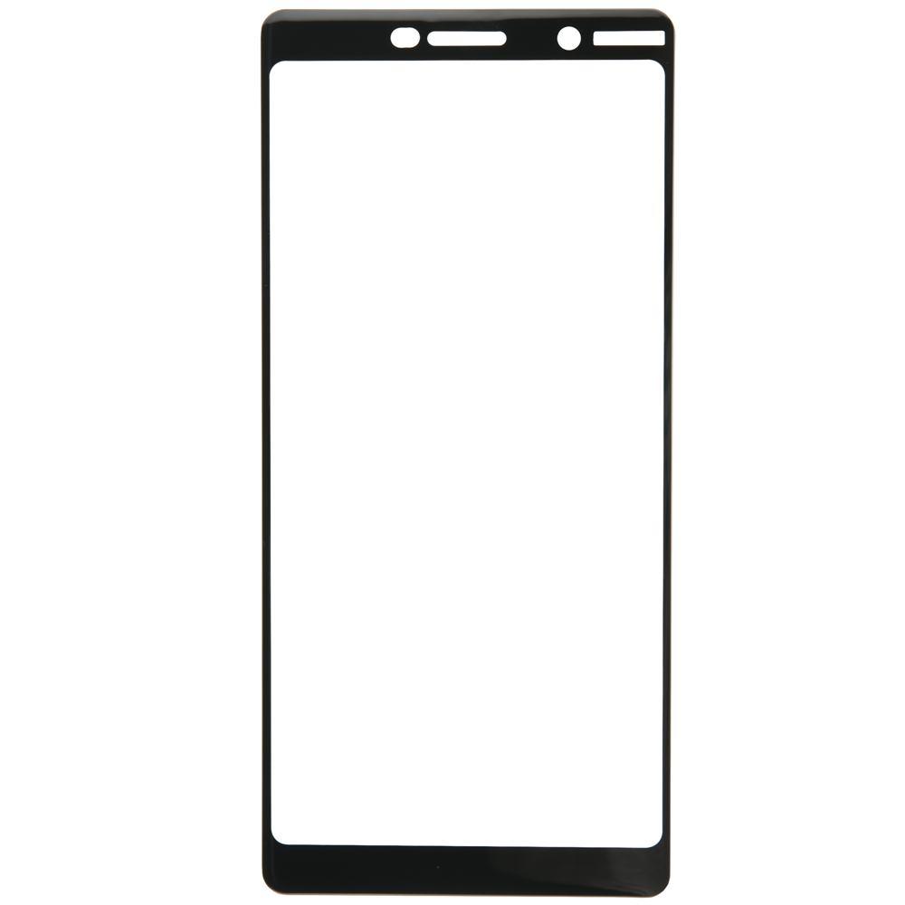 Protective glass Red Line for Nokia 7 Plus Full Screen (3D) 6.0 black new 7 inch for irbis tz70 4g capacitive touch screen digitizer touch panel tablet glass sensor replacement parts black white