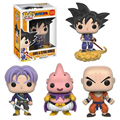 Funko Pop Dragon Ball Z Vinyl Figure Goku Majin Buu Krillin Torankusu Action Doll Super Saiyan Model Anime Toy #EB
