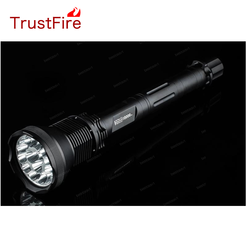 TrustFire AK-91 15xCREE T6 LED 18000 lumen LED Flashlights 5 Mode Aluminum Alloy High Power Bulb LED Flashlight ручной фонарик trustfire 91 ak 15 t6 18000