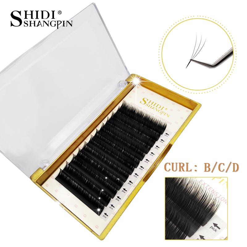 142c8155081 Simple to use and comfortable to wear! Usage: False Lash Individual  Eyelashes Extension Packaging List: 1 x 12 Rows lots mink Individual  Eyelashes Extension