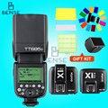 Godox TT685C 2.4G HSS E-TTL II Flash + X1 TTL Transmitter & Receiver for Canon
