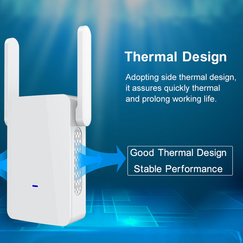 1200M Wireless Repeater 5.8G High Power Dual Band WiFi Signal Range Amplifier Router ND9981200M Wireless Repeater 5.8G High Power Dual Band WiFi Signal Range Amplifier Router ND998
