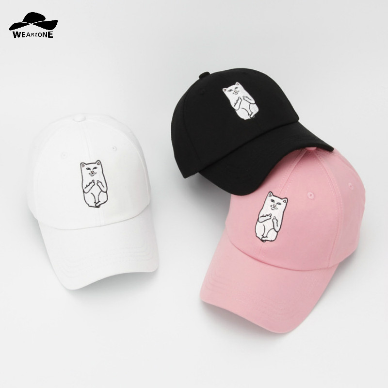 2016 New snapback baseball caps casquette cotton Cat hat bone masculino hats for men gorras planas hip hop Cap outdoor hats