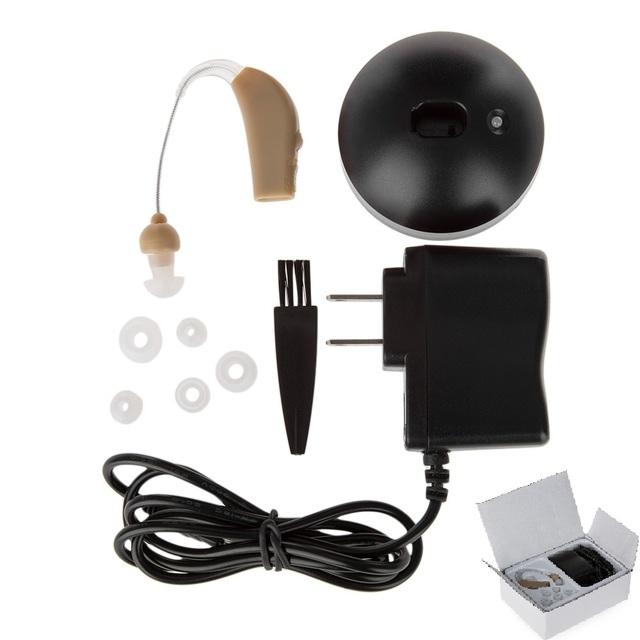 Cuidados de saúde Auditiva-Cuidado Da Orelha Aparelhos Auditivos Aid Amplificador de Som Recarregável Portátil Invisible Melhor Digital Ajustável Ear Plug EUA