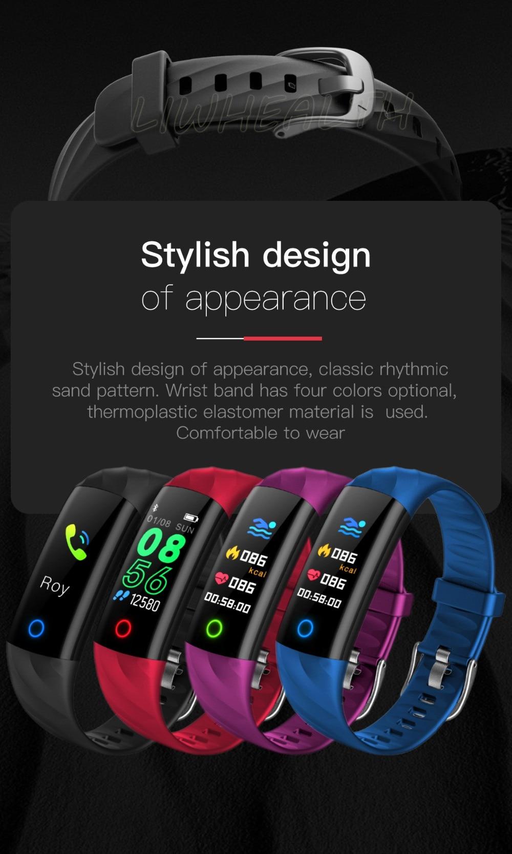 smart watch wristband smartwatch xiaomi miband 2 3  (4)