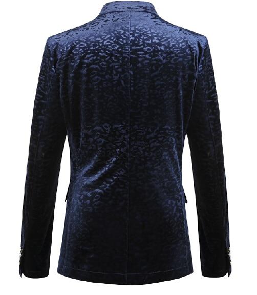 արական կապույտ բաճկոն վերարկու - Տղամարդկանց հագուստ - Լուսանկար 3