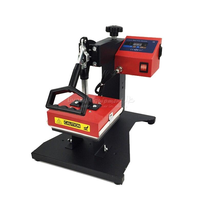 Heat transfer printing machine  drilling hot stamping machine 15*15cm CY-C1002 digital heat transfer baking cup machine single display quaff