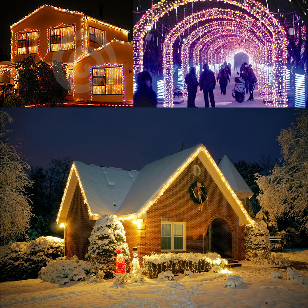 Outdoor copper string wire lights dimmable led string lights flash outdoor copper string wire lights dimmable led string lights flash strobe water resistant decorative firefly rope lights uk plug in lighting strings from aloadofball Choice Image