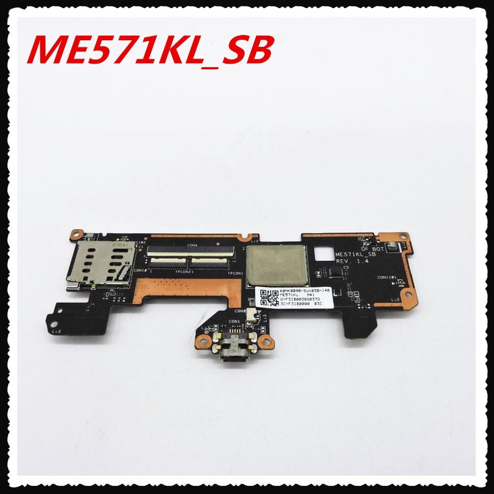 цена ME571KL 3g versie USB Charger Board Touch Control Board Voor Nexus 7 2nd Gen 2013 ME571KL_SB REV: 1.4