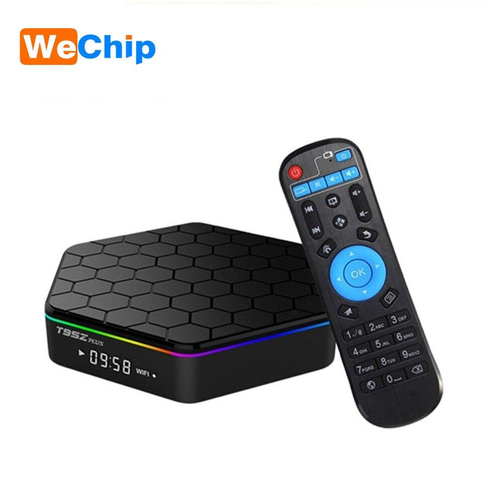 4 K Ott Boîte T95Z Plus Amlogic S912 Octa-core 2G 16G 3G 32G Smart android 7.1 TV Box Double Wifi Bluetooth 4.0 Set Top Box PK X96
