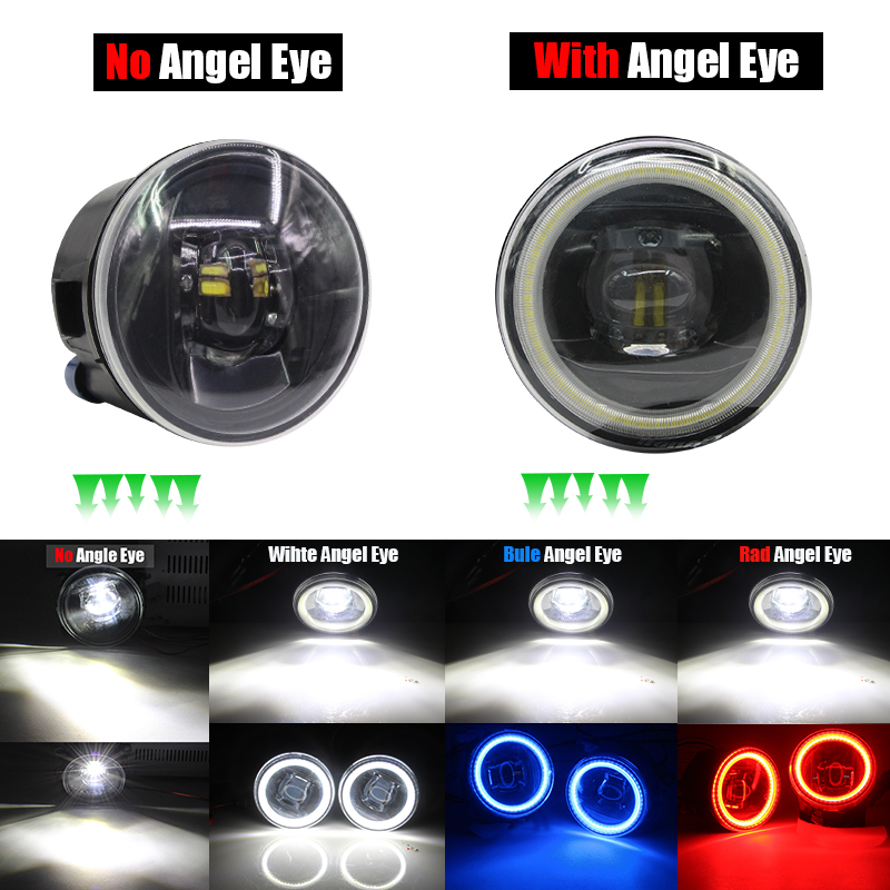 Image 5 - Cawanerl For Nissan X Trail T31 Car H11 4000LM LED Bulb Fog Light Angel Eye DRL 12V Styling 2007 2008 2009 2010 2011 2012 2013-in Car Light Assembly from Automobiles & Motorcycles