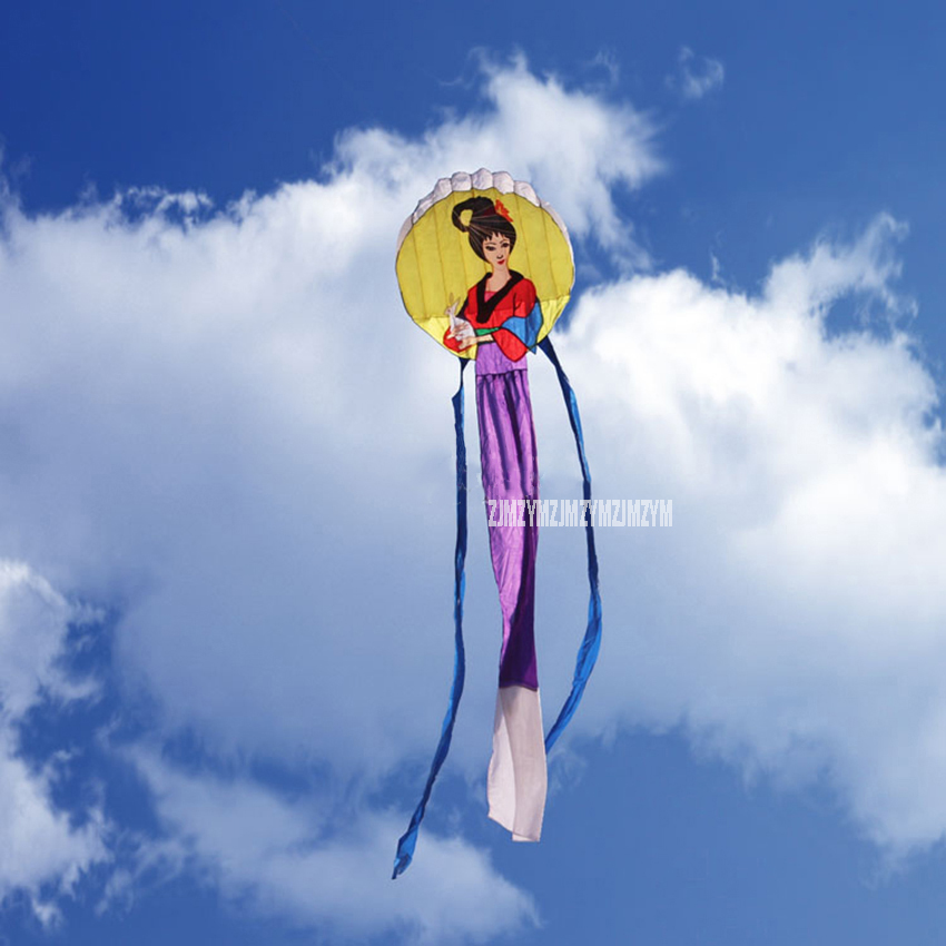 6m long Huge Chang E Kite With String And Handle Large Flying The Goddess of Moon Outdoor Activities Toys Kite Outdoor Tool