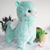 50cm Amuse Peluche Alpacasso Alpaca Toys lama Soft Kawaii 4 Colour Sheep Stuffed Animal Japan Plush Baby Kids For Gift