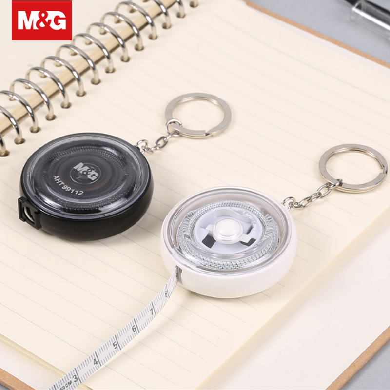 Transparent Leather Tape Measure Portable Retractable 1.5m Long Measuring Ruler For Sewing Machine Drafting Supplies AHT99112