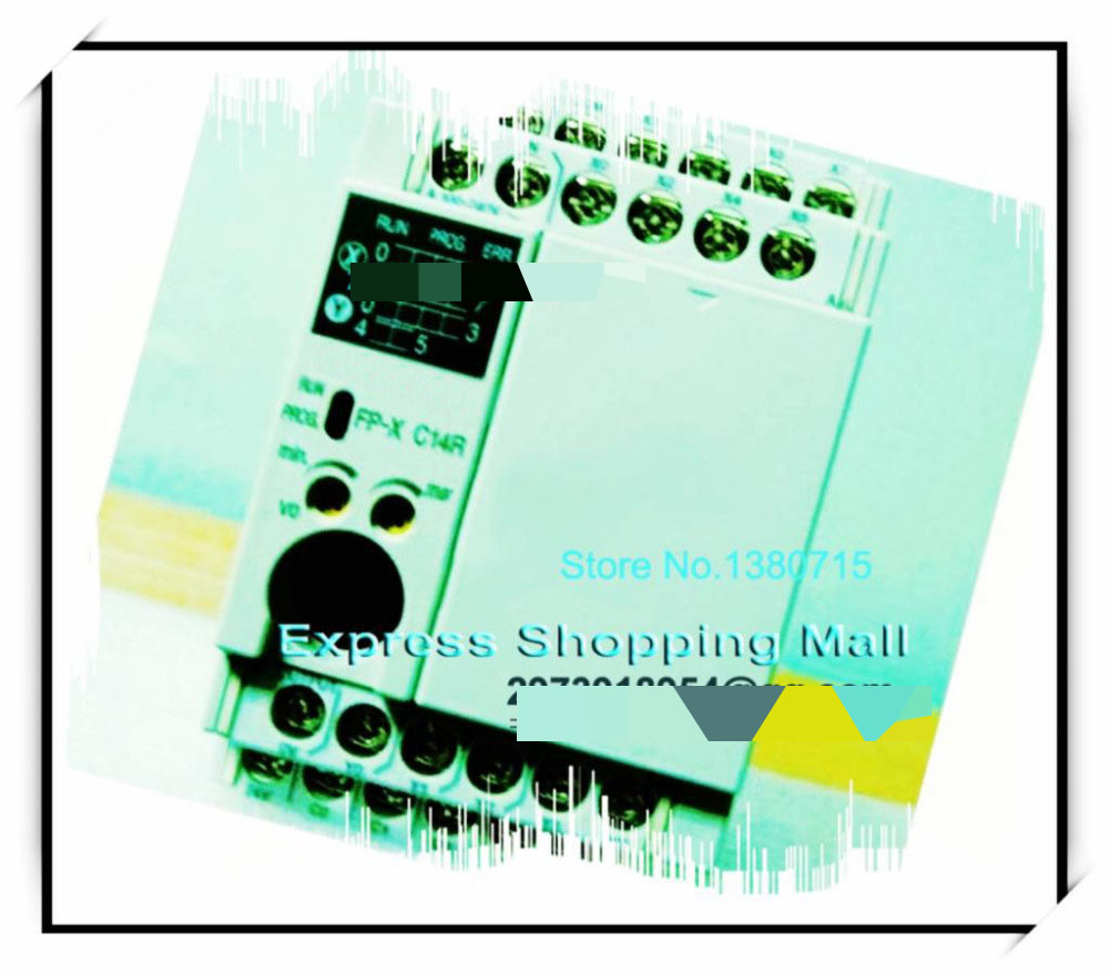 New Original AFPX-C14R PLC AC100-240V 8 DC input points 6 Relay output points FP-X Control Unit