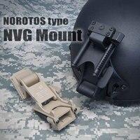 أسلوب تكتيكي norotos خوذة للرؤية الليلية حملق خوذة التبعي غطاء الخوذة nvg pvs جبل