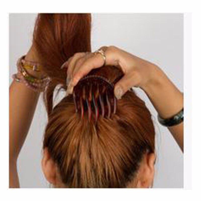 HTB1eg8JMpXXXXaiXXXXq6xXFXXXt Hot Ponytail Volumizing Hair Comb Insert For Women - 2 Colors