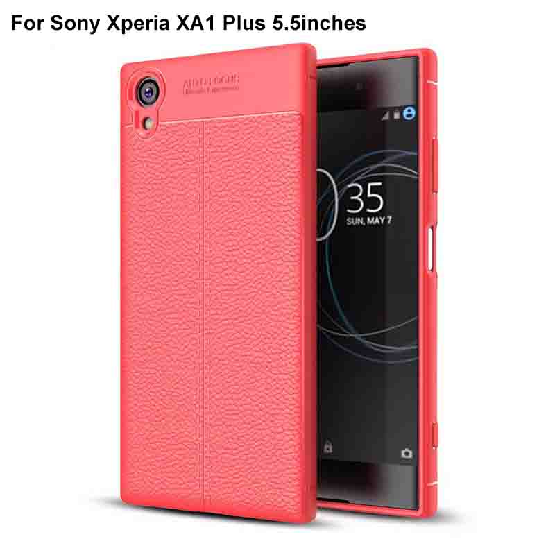 <font><b>Case</b></font> Cover Luxury Silicone Rubber Back Cover Phone <font><b>Case</b></font> Soft back cover For <font><b>Sony</b></font> XperiaXA1 Plus X <font><b>A1</b></font> Plus <font><b>Case</b></font> image