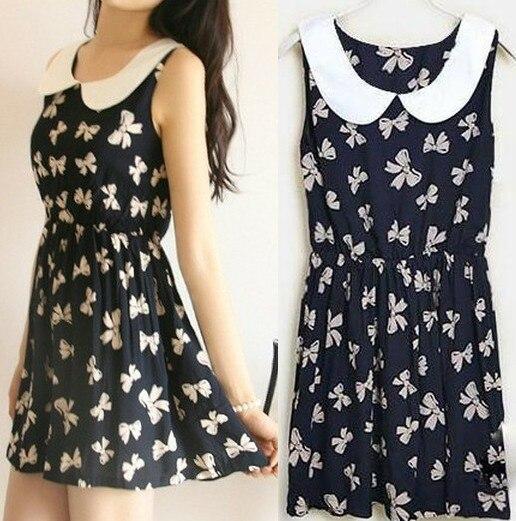 2016 new fashion Summer casual cotton dress for women, women's pattern dresses