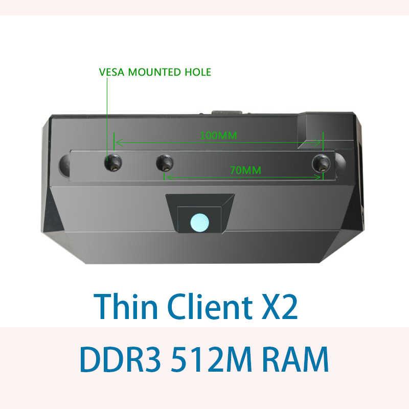 Venoen Thin Client rdp X2 All winner A9 dual-core 1 2 Ghz RDP 7 0 512m ram  dual-core thin client Windows 7/8/10