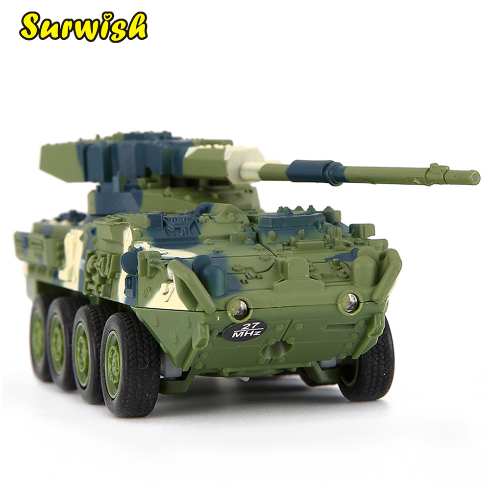 Creative Toy Magic Prestige 8021 Stryker Cannon Car RC Tank Military Model Early Development Education Toys for Children