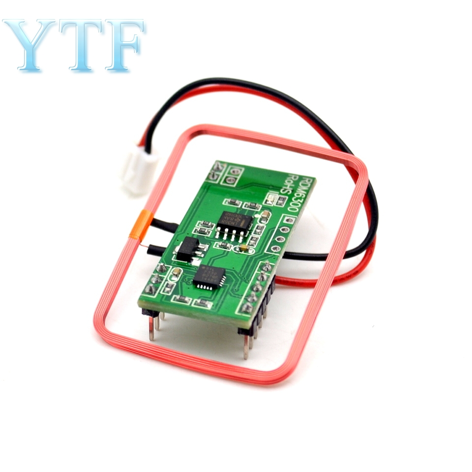125 KHZ EM4100 RFID Card Read Module Board RDM630 UART Compatible38.5mmx19mmx9mm Modules