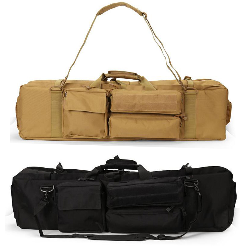 Tactical M249 Gun Bag Outdoor Carrying Shoulder Bag Hunting Shooting Airsoft Rifle Gun Carry Bag About 100cm in Hunting Bags from Sports Entertainment