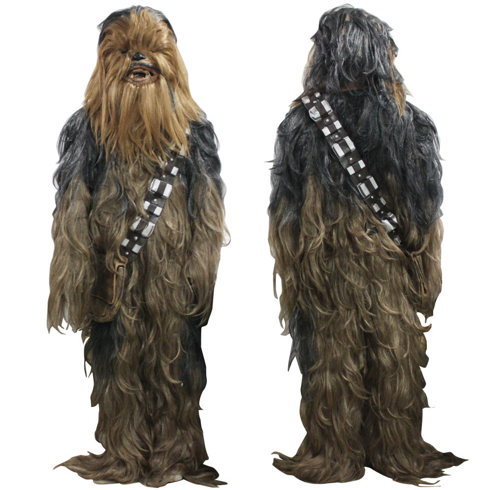 Expedited Shipping Free Star Wars Costumes 7 Series Cosplay Chewbacca Halloween Suit Costume Halloween Party Prop