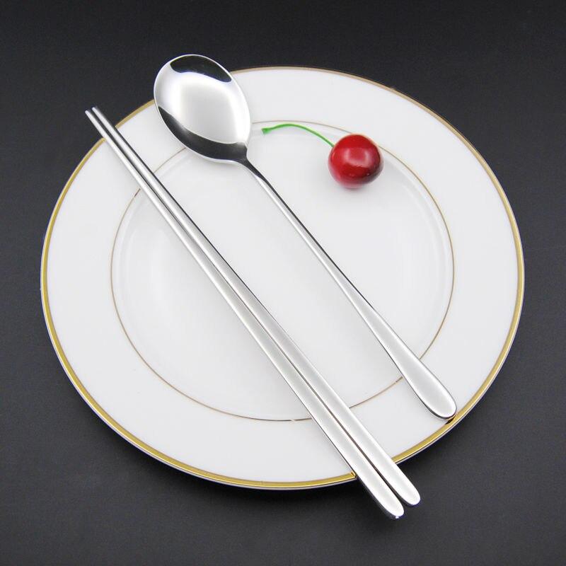 Sliver Chopstick spoon