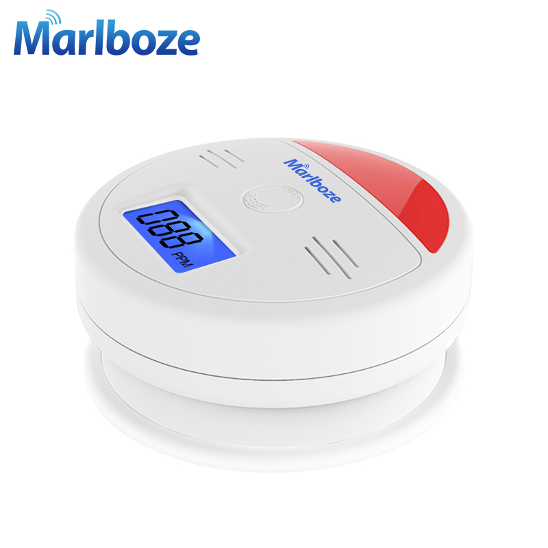 Fire Protection Golden Security 5pcs Lcd Photoelectric Independent Co Gas Sensor Carbon Monoxide Poisoning Alarm Wireless Co Detector For Home Security & Protection