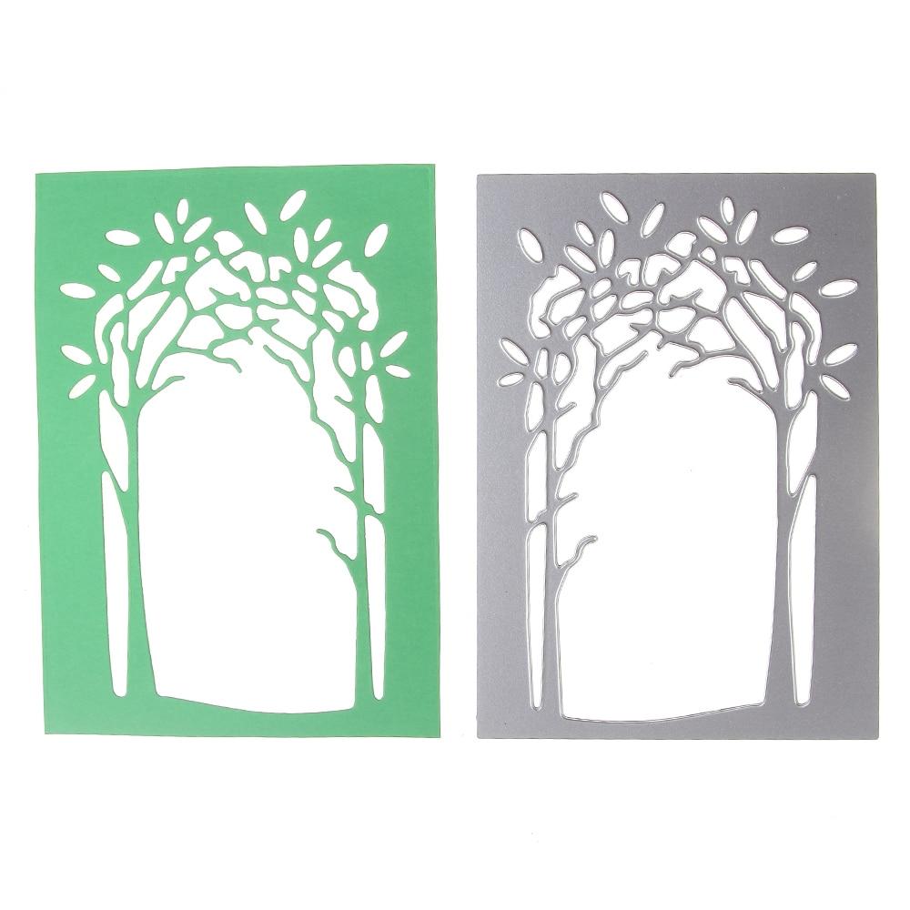 List of top bingkai kartu ucapan images - Pohon Bingkai Kartu Ucapan Cutting Dies Disesuaikan 3d Diy Scrapbooking Craft Die Foto Kartu Undangan Dekorasi