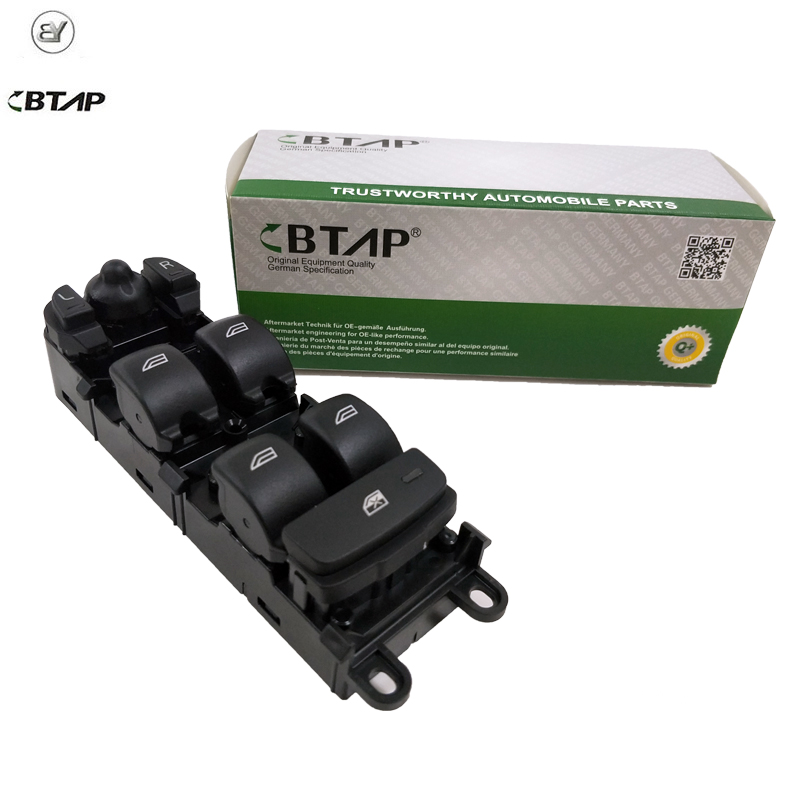 BTAP Power Control Window Switch LRH Right Front For LANDROVER DISCOVER 2 RANGE ROVER FREELANDER 4