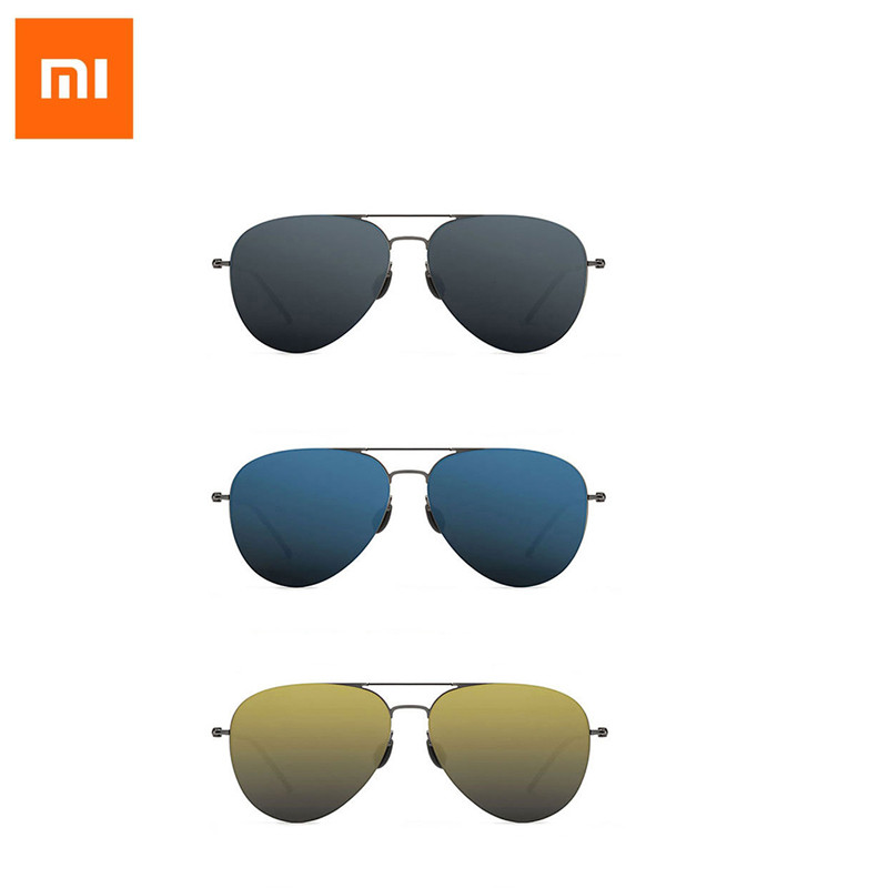 Xiaomi Mijia Turok Steinhardt TS Nylon Polarized Sunglasses Colorful RETRO 100% UV-Proof Fashionable Black Sun Lenses Unisex