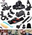 Gopro Accessories Kit Wrist Chest Head Strap Floating Clamp Telescopic Monopod Stick for Gp pro Hero 5 5S 4 3+ 2  xiaomi yiGS36