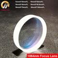 CARMANHAAS Сферический 1064nm волоконный YAG Плавленый диоксид кремнезема фокусирующий объектив лазерный фокус объектив Dia. 12 мм 19 мм 20 мм
