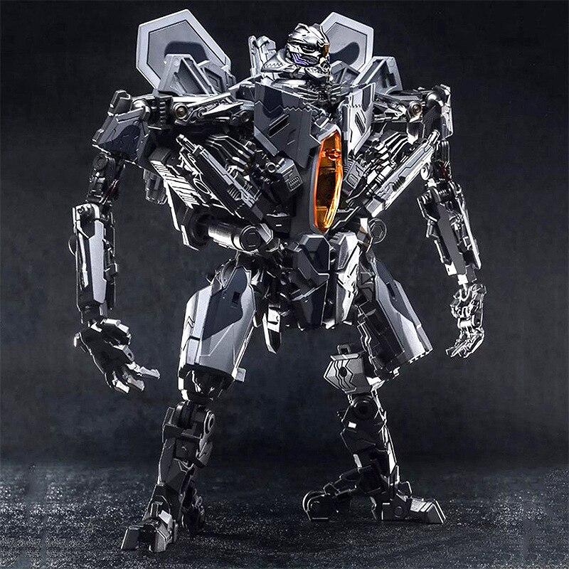 27cm Transformation Movie 5 Black Mamba Star Ancestral LS04 Red Spider SS Zoom Plane PVC Action Figure Model Robot Toy