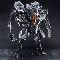 27cm Transformation Movie 5 Black Mamba Star Ancestral LS04 Red Spider SS Zoom Plane PVC Action Figure Model Robot Toy
