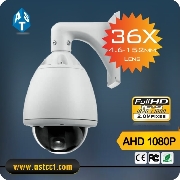 New Product HD 1080P AHD PTZ Camera with 36X Zoom Sony Cmos Waterproof High Speed Dome Camera with 1080p AHD Output new product full hd aurotracking 27x ptz camera ahd 1080p output ir high speed dome camera 2mp ahd ptz auto tracking