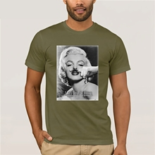 Marilyn Monroe Lifes a Joke T-Shirt  Fashion Printed men's T-Shirt Short Sleeve S-3Xl marilyn pappano lawman s redemption