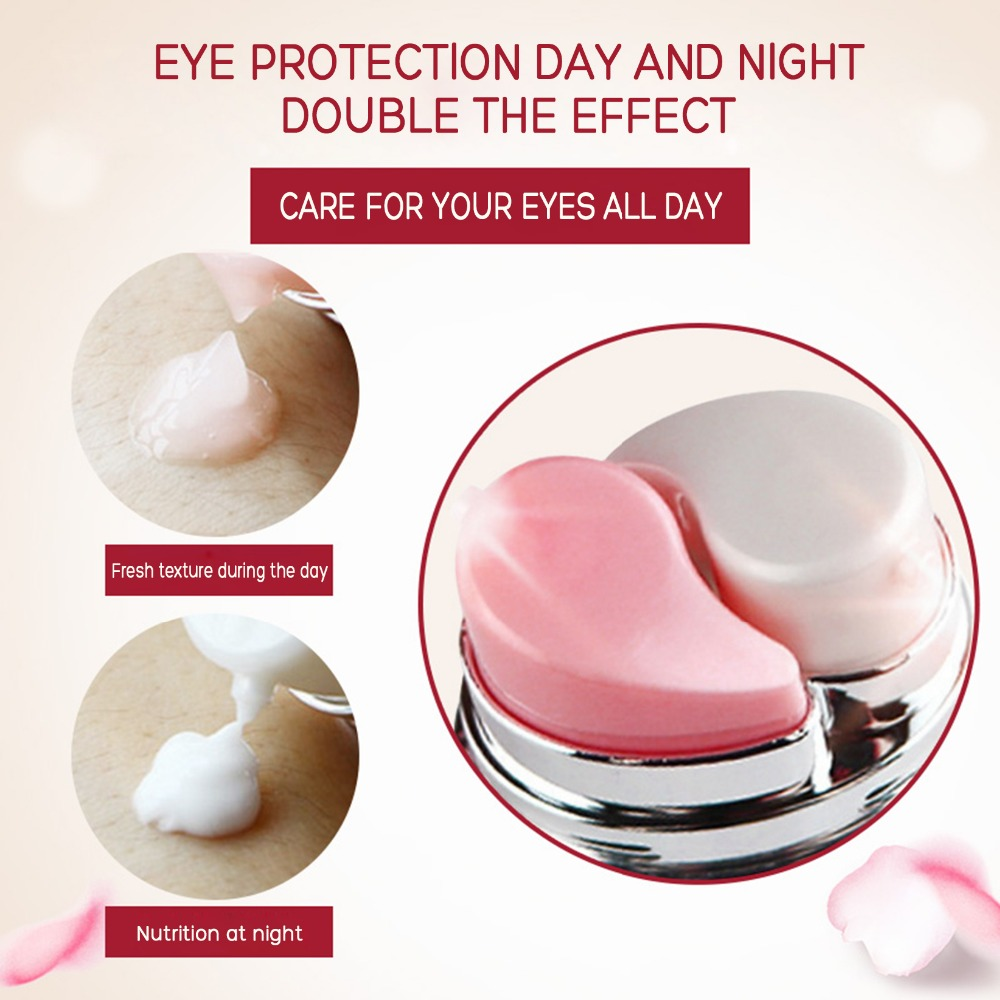 Day and Night Elastic Eye cream Skin care Facial Anti- puffiness Face Care Dark circles Anti Wrinkle Aging Moisturizing Firming 5